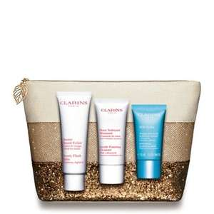 Clarins SOS Gift Set £26.35 @ Debenhams, free delivery with code