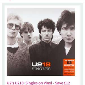U2 18 vinyl album 8.99 at hmv with pure membership or 11.99 inc £3 Sign-Up fee @ HMV