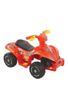 Cars 3 6v quad bike £36.99 @ Littlewoods