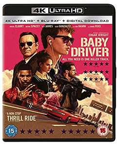Baby Driver (2 Disc 4K & Blu-ray), £11.99 at Amazon