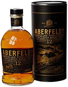 Aberfeldy 12 Year Old Single Malt Scotch Whisky, 70 cl  £21.99  Amazon