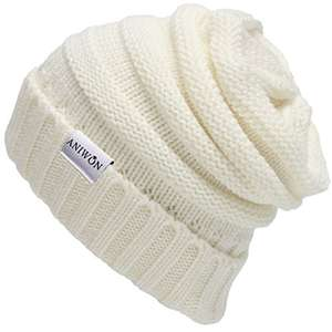 Aniwon Slouchy Beanie Hat Winter £5.39 Prime / £9.38 Non Prime Sold by Fascigirl and Fulfilled by Amazon