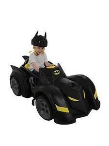 Batman 6V Battery Operated Batmobile now £108.98 Del at Very (Thomas & Friends 12V Ride-On now £158.98 / Disney Cars 3 McQueen 6V Car now £98.98