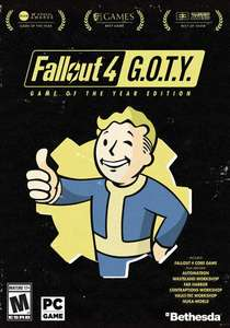 [Steam] Fallout 4: Game of the Year Edition - £14.24 - CDKeys (5% Discount / Apple Pay)
