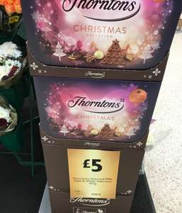Thornton's Christmas Selection 457g - £5 in store at Morrisons