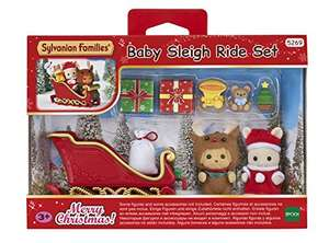 Sylvanian family baby sleigh ride set £9.38 (prime) £13.37 (Non Prime) @ Amazon
