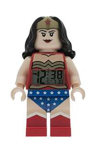 LEGO - DC Comics Super Heroes Wonder Woman Minifigure Alarm Clock now £12.50 Del Prime / £16.49 Non Prime @ Amazon