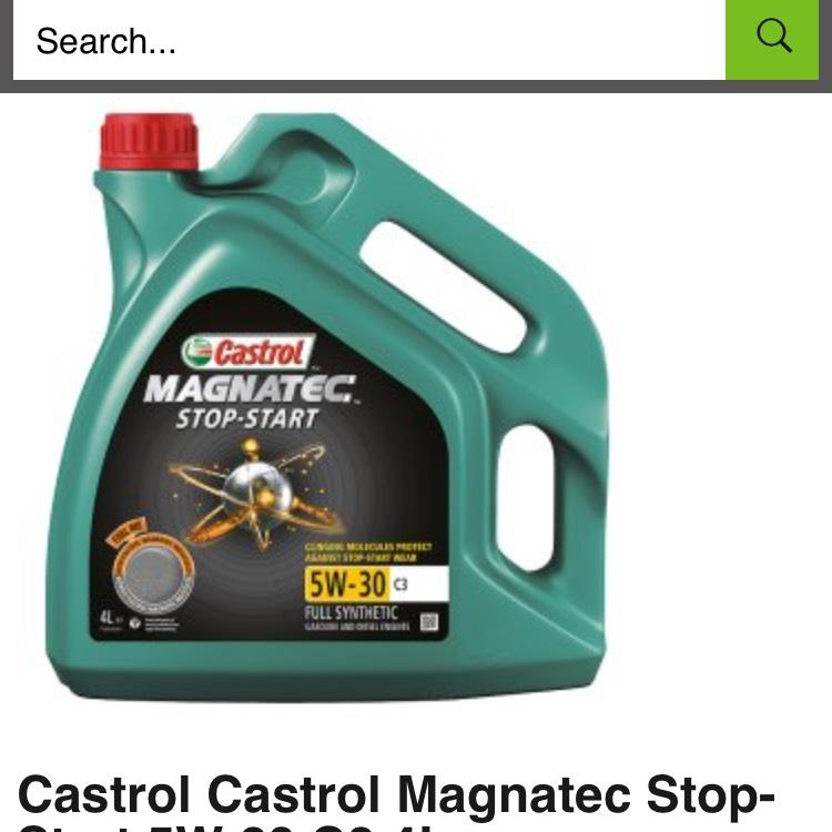 Castrol MAGNATEC stop start oil 4ltr - £22.75 @ ASDA