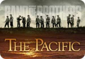 The Pacific or Band of Brothers on sale each on iTunes - £9.99