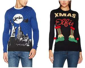 Up To 50% Off Christmas Jumpers Today - Prices starting from £8.00 at Amazon