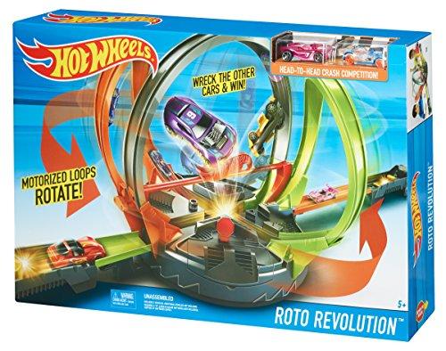 Hot Wheels Roto Revolution Track Set now £21.80 Del @ Amazon