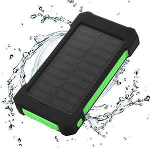FLOUREON Solar Charger Power Bank 10000mAh. Plus a free Video Light worth £28 - £11.99 (Prime) £15.98 (Non Prime) @ Sold by EKEYUK and Fulfilled by Amazon