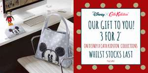 3 for 2 on Disney Cath Kidston Collection both in store and online