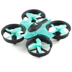 FuriBee F36 Mini 2.4GHz 4CH 6 Axis Gyro RC Quadcopter in Cyan or Orange now £6.01 Del w/code @ GearBest