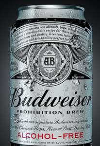 Free Budweiser Prohibition 330ml - valid instore at Tesco only (printable voucher from Budweiser)