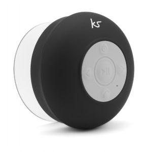 KitSound Rinse Portable Rechargeable Bluetooth Sucker Speaker Black £10.05 @ eBay (seller tech-refresh)