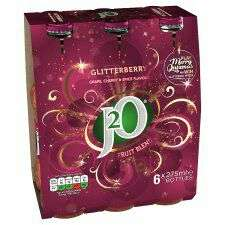 J2O 6x 275ml bottle pack Half Price @ Tesco inc. Glitter Berry