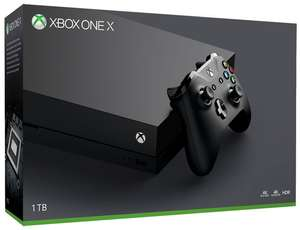 Microsoft Xbox One X 1TB Console - £449.85 @ Shopto eBay (£402.62 after 10.5% eBay 1 Day Only CashBack)