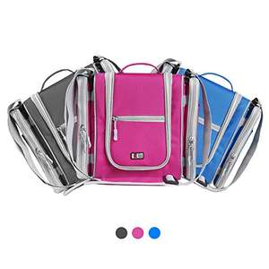 BUBM Premium Hanging Toiletry Bag £14.99 Prime / £19.74 Non Prime Sold by Eideal and Fulfilled by Amazon