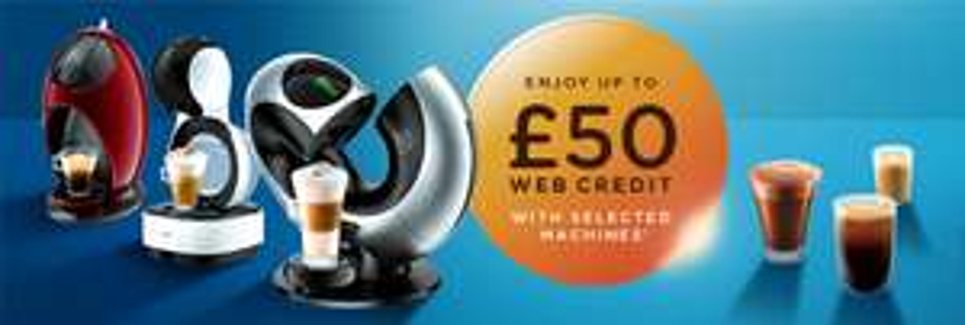 Enjoy up to £50 web credit