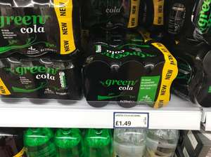 Green Cola £1.49 for 6x330ml at Poundstretcher
