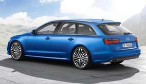 Audi A6 estate 1.8 TFSI Black Edition lease £221.99/month + £1,997.89 - £7326.65 @ Select car leasing