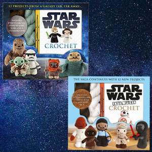 Star Wars Crochet Pack - Make 2 Characters £10 / Even More Star Wars Crochet Pack £12.99 @ Amazon (Free del for all)