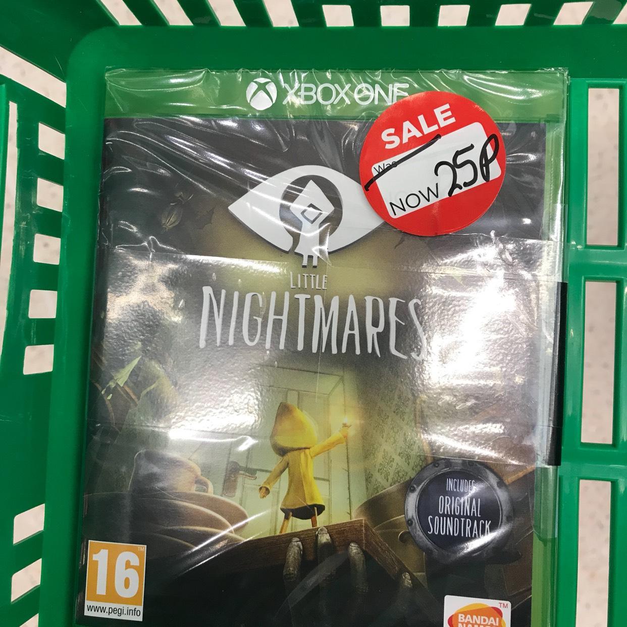 Xbox one Little Nightmares 25p @ Asda - Toryglen Glasgow