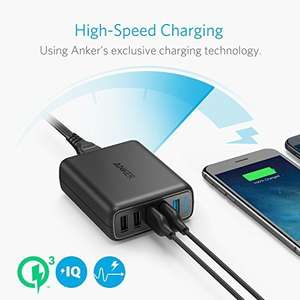 Anker 5 port desktop charger with quick charge £19.99 (Prime / £23.98 non Prime) Sold by AnkerDirect and Fulfilled by Amazon - Lightning deal