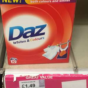 Daz white and colours 650g  £1.49 superdrug instore