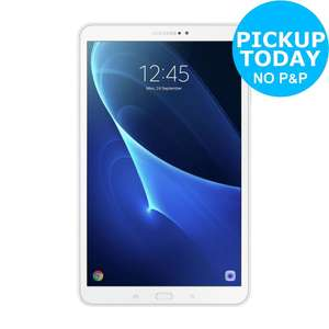 Samsung Tab A 10.1 Inch HD 16GB WiFi Android Tablet for £159 @ Argos Ebay (Free C&C ~£138 with cashback)