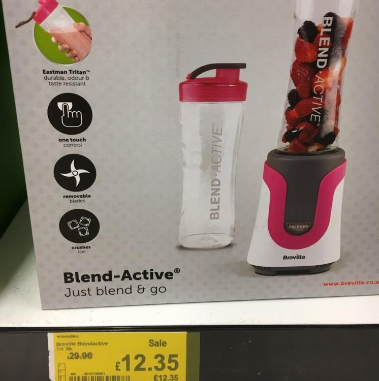 Breville Blend-Active (pink) £12.35 @ Asda instore