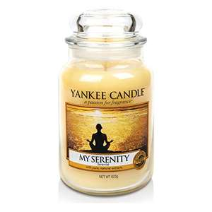 Yankee Candle My Serenity Large Jar 623g Candle - £9.99 (Prime / £14.74 non Prime) Sold by My Swift and Fulfilled by Amazon
