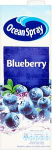 Ocean Spray Blueberry Juice Drink (1L) and various other flavours as stocked by each store was £1.35 now 67p @ Tesco
