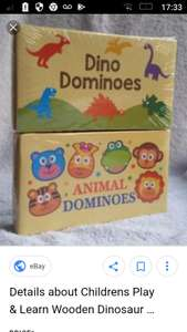 Animals Dominoes £1 Poundland