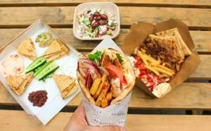 Free wraps from The Athenian in Victoria - Weds 13th December 2017, 12pm – 8pm
