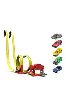 Teamsterz Street Race Showdown Trackset Free C&C Buy Now Pay Later £10.99 @ Very