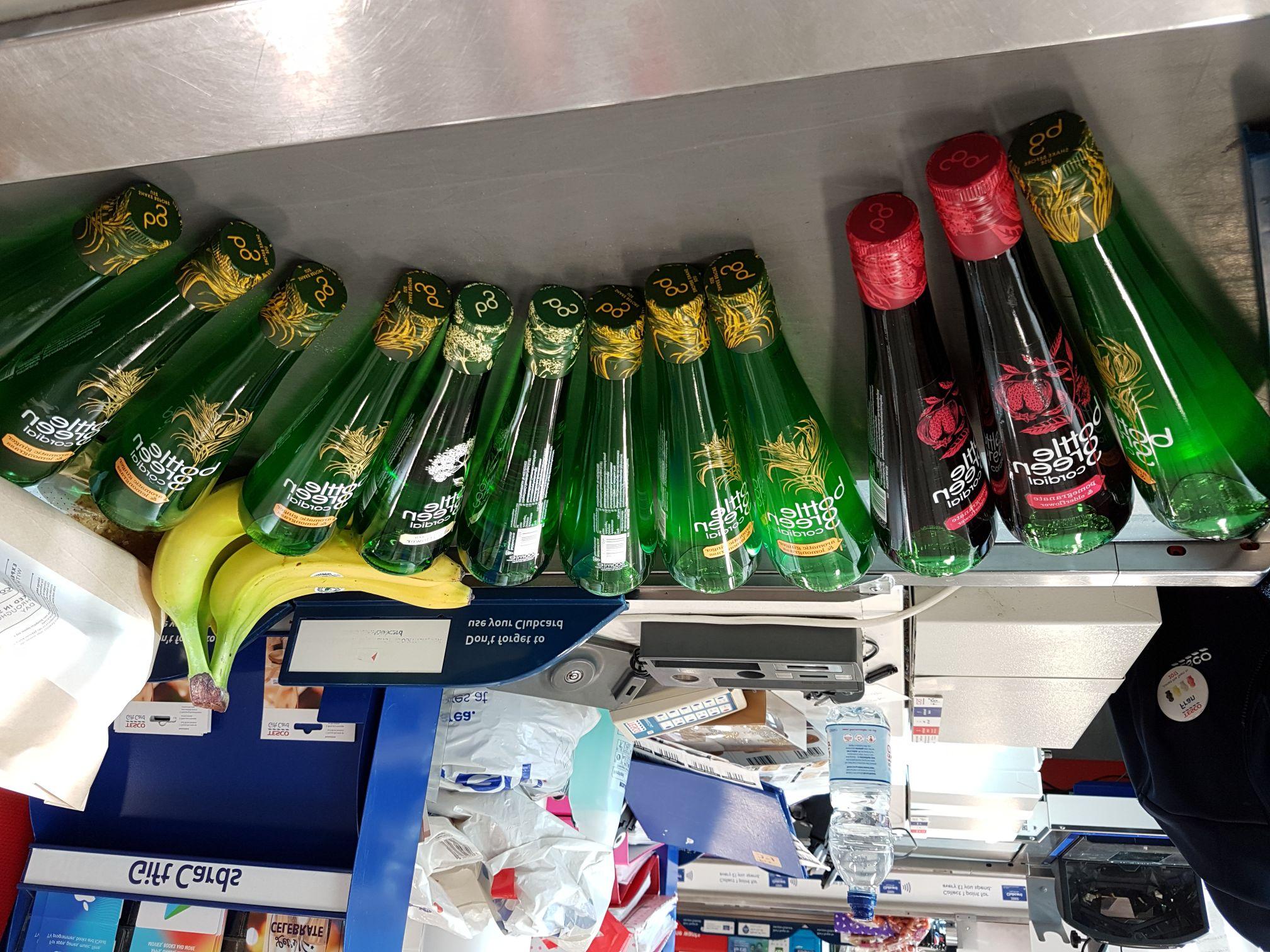 Bottle Green cordial £2 @ Tesco
