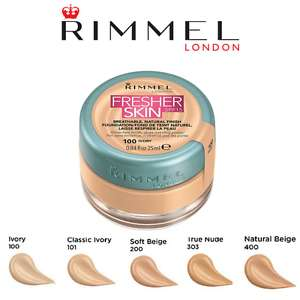 Rimmel Fresher Skin Foundation £1 @ Poundworld