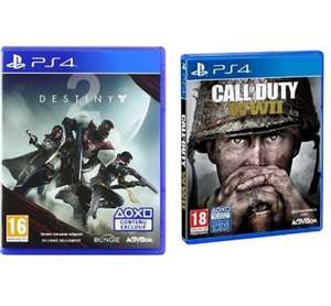 PS4 - Call of Duty + Destiny 2 bundle £58.36 @ Amazon FR