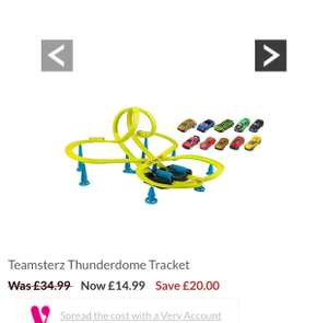 Teamsterz Thunderdome Tracket £14.99 @ Very (Free C&C)