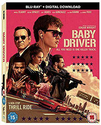 Baby Driver Blu Ray / Amazon - £7.99 Prime / £9.98 non-Prime