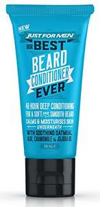 Just For Men Beard Face Wash & Conditioner (double 40% discount) only £2.15 each Amazon Prime (£6.14 non-Prime)