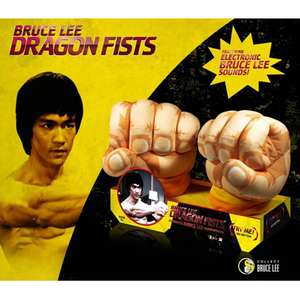 Bruce Lee Dragon Fists with sounds - £4.99 - £6.98 delivered (Free del £10 spend) @ Zavvi