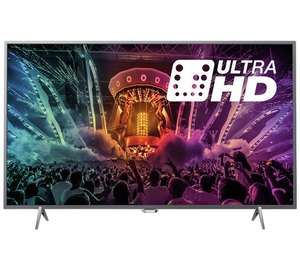 Buy Philips 49PUS6401 49 Inch SMART 4K Ultra HD TV with HDR - £375 @ Argos