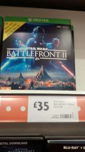 Star Wars Battlefront 2 xbox One and PS4 - £35 instore @ Morrisons (Beverley)