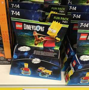 Lego Dimensions Bart Simpson Fun Pack 71211 Poundland in store - £5