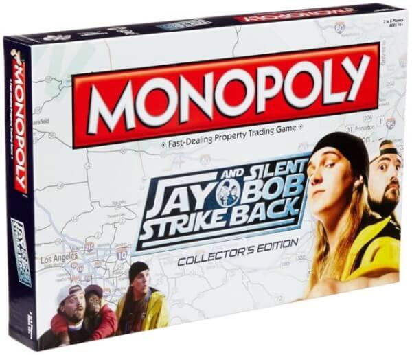 Monopoly Jay and Silent Bob Strike Back - £12.99 - Zavvi (Groupon - £13.98)