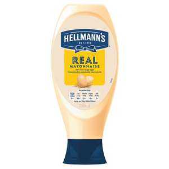 Hellmann's Real Squeezy Mayonnaise 750Ml - £1.75 @ Tesco