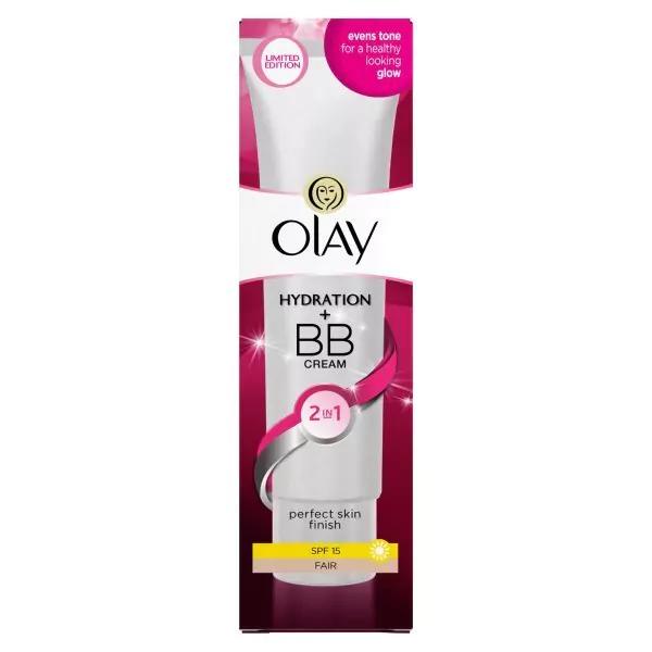 Olay 2in1 Hydration + BB Cream Fair Moisturiser SPF15 50ml £4.89 @ Superdrug